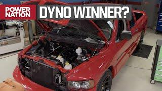 Who Wins Dyno Test? V10 SRT10 or Twin Turbo V6 F150? Muscle Trux Build-Off - Truck Tech S7, E13
