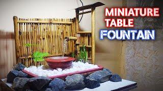 Japanese Bamboo Water Fountain DIY - AMAZING INDOOR WATER FOUNTAIN BAMBOO