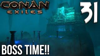 WINE CELLAR DUNGEON BOSS TIME!! - Part 2 | Conan Exiles Multiplayer Gameplay/Let's Play S6E31