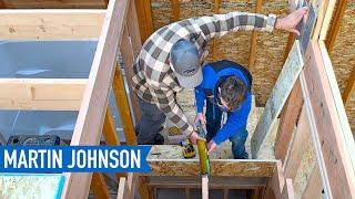Building Pie Stairs | Off Grid Cabin Build #35
