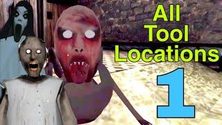 Part 1 | All Tool Locations In Granny Chapter 2 ( V1.0 )