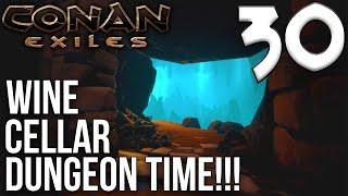 WINE CELLAR DUNGEON CRAWL! - Part 1 | Conan Exiles Multiplayer Gameplay/Let's Play S6E30