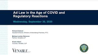 Ad Law in the Age of COVID and Regulatory Reactions