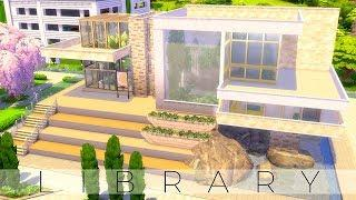 The Sims 4 Speed Build   BOTANICAL LIBRARY   DISCOVER UNIVERSITY   NOCC