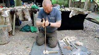 Hand Drill Firelighting - Complete Beginners Guide (Craig Fordham)