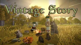 Searching for Tin & Expanding the Farm - Vintage Story Gameplay