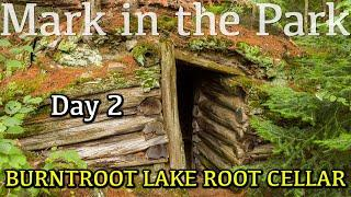 ROOT CELLAR IN ALGONQUIN - Mark in the Park Season 2 Episode 3