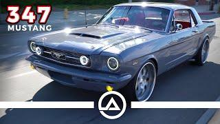347 Stroker '66 Mustang Garage Build Saved From a Fire