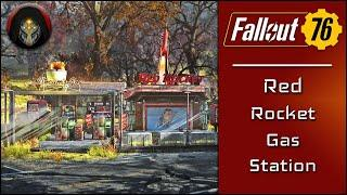 Fallout 76 | Red Rocket Camp Building Tutorial